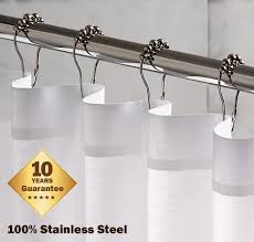 Large Drapery Rings Amazon Com Shower Icon Shower Curtain Rings Hook Rustproof