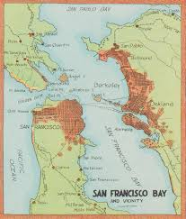 Map Of San Francisco Area by San Francisco To Santa Cruz The Ocean Shore Railroad U2014 Neatline
