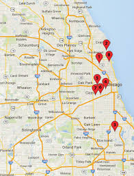 Gangs Chicago Map by Chicago Crime Map May 3 8