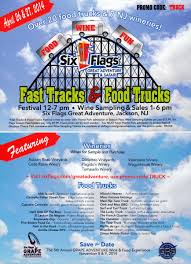 Six Flags Food Pass Great Adventure Hosts First Food Truck Festival April 26 U002627 2014