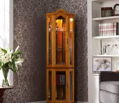Curio Cabinets Living Spaces Exquisite Corner Curio Cupboard Ikearoute Homefurniture Org