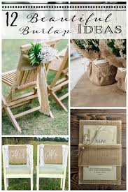 burlap wedding ideas 12 burlap wedding decor ideas