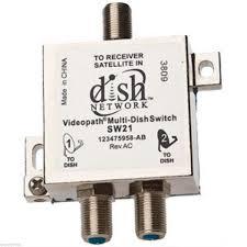 Under Cabinet Kitchen Tv Dvd Combo Sw 21original Dish Network Multi Switch Dishnet Sw21 Lnb 119 110