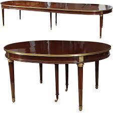 Mahogany Dining Table A Late 18th C Louis Xvi Neoclassical Mahogany Dining Table From