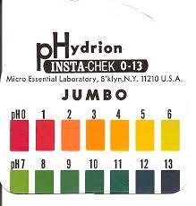 How To Make Litmus Paper At Home - ph litmus paper scale jpg 1554纓1626 acids bases