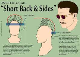 how to trim sides and back of hair short back and sides men s hair cut