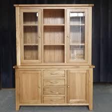 solid oak china cabinet bespoke solid oak hand made furniture