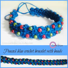 crochet bracelet with beads images Crochet for you free patterns and tutorials crochet for you jpg