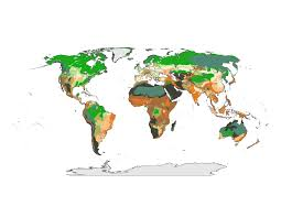 Climate World Map by Science Junkie U2014 New World Map For Overcoming Climate Change The