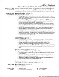 resume templates for executive assistants to ceos history admin resume objective exles office manager sle