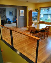 Mahogany Banister Stairs And Railing Projects Ventana Construction Seattle Washington