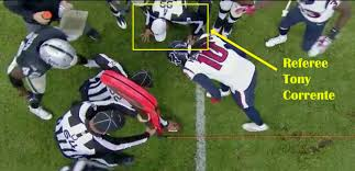 Nfl Challenge Flag Nfl Officiating Comes Under Fire In Texans Raiders Matchup In