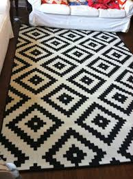 Black And White Modern Rug by Home Chic Raleigh Ikea Rug Black And White Rug Black And White