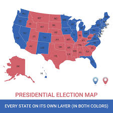 map of usa with compass map reading for beginners