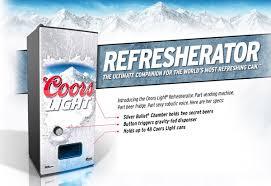 coors light beer fridge coors light beer fridge lake region radioworks coors light