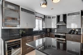 comptoir de cuisine noir les cuisines goulet ventes et installations d armoires de