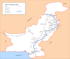 Mail Map File Khyber Mail Route Map Png Wikimedia Commons
