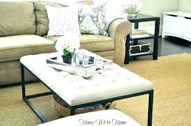 storage ottoman coffee table with trays ottoman coffee table coffee table and ottoman setup in living room