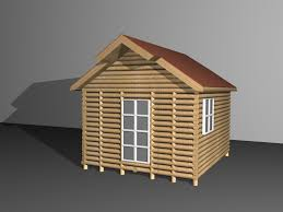 Building Plans For Small Cabins 4 Ways To Build A Log House Wikihow