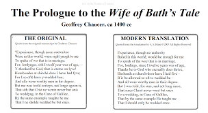 Translate Meme - chaucer modern translate wife of bath meme life in the realm of