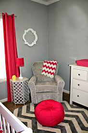 Gray And Red Bedroom by Modern Gray And Pink Nursery Decor Pinterest Nursery Modern