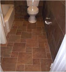 Decorative Tile Borders Bathroom Diagonal Black Slate Floor Mixed Shower Brown Ceramic Tile