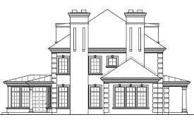 edgewood estate home plans associated designs house plan georgian
