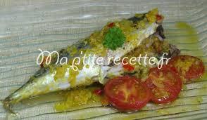 cuisiner le maquereau au four maquereaux au four aux épices recette plat maquereau