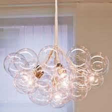 Cascading Glass Bubble Chandelier Zspmed Of Glass Bubble Chandelier Ideal For Your Interior Decor