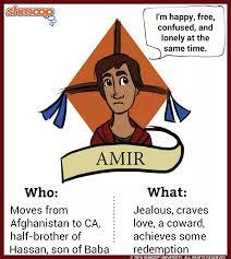 amir in the kite runner