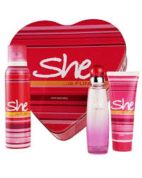 Gift Sets For Women She Collection 3 In 1 Perfume Gift Set For Women