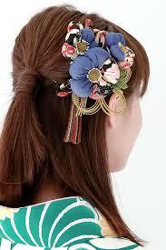 hair clasp soubien rakuten global market ornament 2 points set blue gray