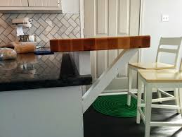 kitchen island wooden kitchen island floating breakfast bar