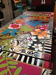 Dining Room Furniture Furniture Best 25 Stenciled Table Ideas On Pinterest Stencil Table