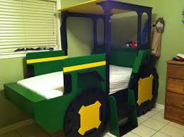 Bedroom Room Decor Ideas Diy Cool Kids Beds With Slide Bunk For - John deere kids room