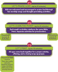 kidsown worship children s church curriculum