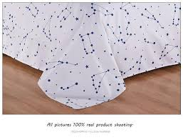 Duvet Cover Stars Active Printed Galaxy Bedding Set King Size Stars Duvet Cover