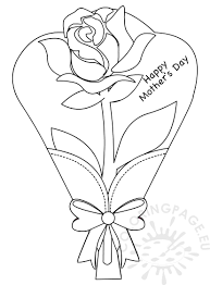 roses coloring pages to print virtren com