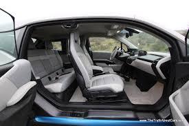 bmw i3 2015 bmw i3 range extender interior seats doors open the truth