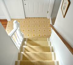 Sisal Stair Runner by Eclectic Farmhouse Foyer One Room Challenge Reveal