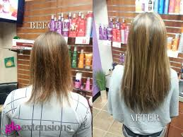 Sticker Hair Extensions by Before And After Hair Extensions Jaclynn Tokarz Of Salon Oggi