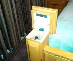 hollow bed post gun storage 3 steps