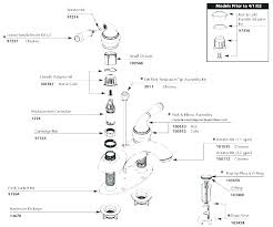 replacement parts for moen kitchen faucet moen monticello shower parts diagram for moen kitchen faucet