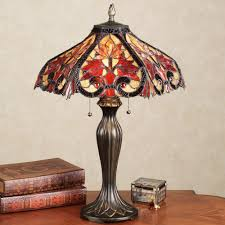 Stained Glass Light Fixtures Dining Room by Table Lamps And Home Lighting Touch Of Class