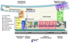 miami airport terminal map the lima international airport jorge chávez limaeasy