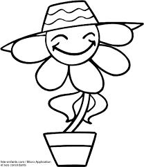 coloriage printemps à colorier dessin à imprimer projets à