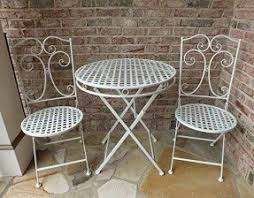Patio Table And Chairs On Sale Wrought Iron Patio Furniture Sets Foter