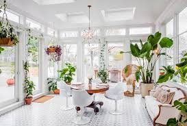 Modern Sunroom Sunroom Indoor Plant Ideas 15 Trendy And Stylish Inspirations