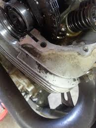 valve cover bolt broke honda atv forum