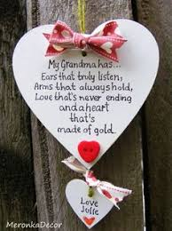 mothers day gift for nanny personalised heart for mummy mothers day handmade 10